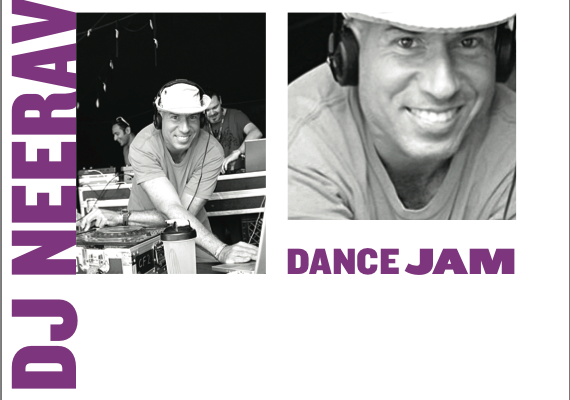 DJ Neerav Dance Jam at Wanderlust Poster, 6 October